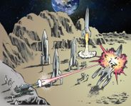Board Game: Assault on Fortress Moon