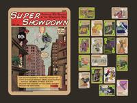Board Game: Super Showdown