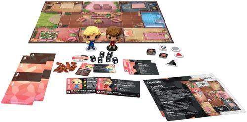 Board Game: Funkoverse Strategy Game: Golden Girls 100 – Rose and Blanche