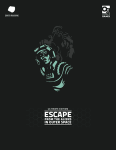 Escape from the Aliens in Outer Space Cover Artwork