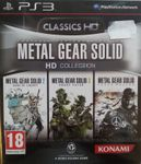 Video Game Compilation: Metal Gear Solid HD Collection