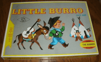 Board Game: Little Burro Chase Game