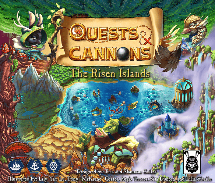 Quests & Cannons: The Risen Islands