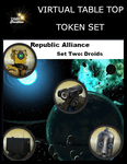 RPG Item: Virtual Table Top Token Set: Republic Alliance Set Two: Droids
