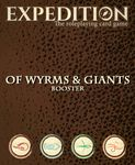 RPG Item: Expedition: Of Wyrms & Giants Booster
