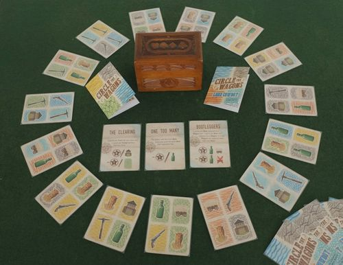 Board Game: Circle the Wagons