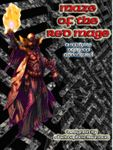 Board Game: Maze of the Red Mage: A Solitaire Dungeon Adventure!