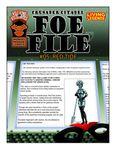 RPG Item: Foe File #05: Red Tide