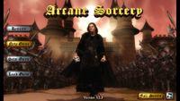 Video Game: Arcane Sorcery