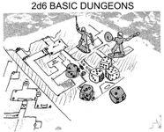 RPG: 2d6 Basic Dungeons