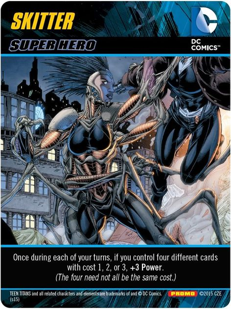 Dc Card Deck Building Game Cards