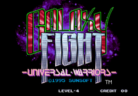 Video Game: Galaxy Fight: Universal Warriors