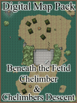 RPG Item: Digital Map Pack: Beneath the Fetid Chelimber & Chelimber's Descent