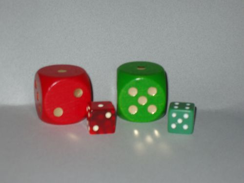 Board Game: Giant Dice