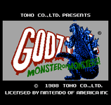Video Game: Godzilla: Monster of Monsters