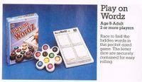 Board Game: Play on Wordz