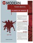 RPG Item: Team Bravo: Flames of Wrath