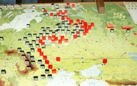 December II 1941: Massive Soviet counterattacks liberate Moscow and drive into the Axis lines.