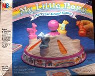 Board Game: My Little Pony Merry-Go-Round Game
