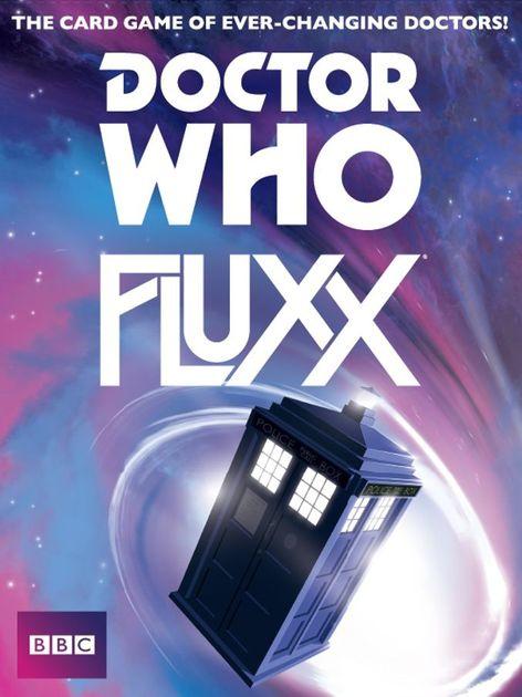 Doctor Who Fluxx Board Game Boardgamegeek