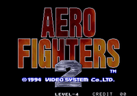 Video Game: Aero Fighters 2