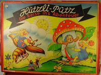 Board Game: Hutzli-Putz Die Reise ins Abenteuer