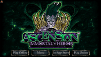Video Game: Ascension: Immortal Heroes