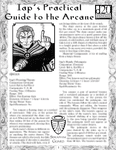 RPG Item: Iap's Practical Guide to the Arcane