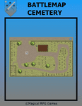 RPG Item: Battlemap Cemetery