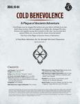 RPG Item: DDAL10-04: Cold Benevolence
