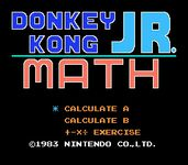 Video Game: Donkey Kong Jr. Math