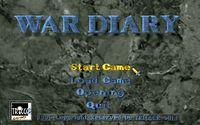 Video Game: War Diary