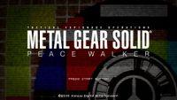 Video Game: Metal Gear Solid: Peace Walker