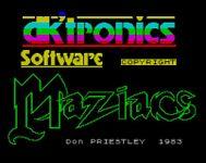 Video Game: Maziacs