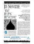 RPG Item: The Rats' Revenge