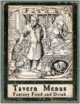RPG Item: Tavern Menus: Fantasy Food and Drink