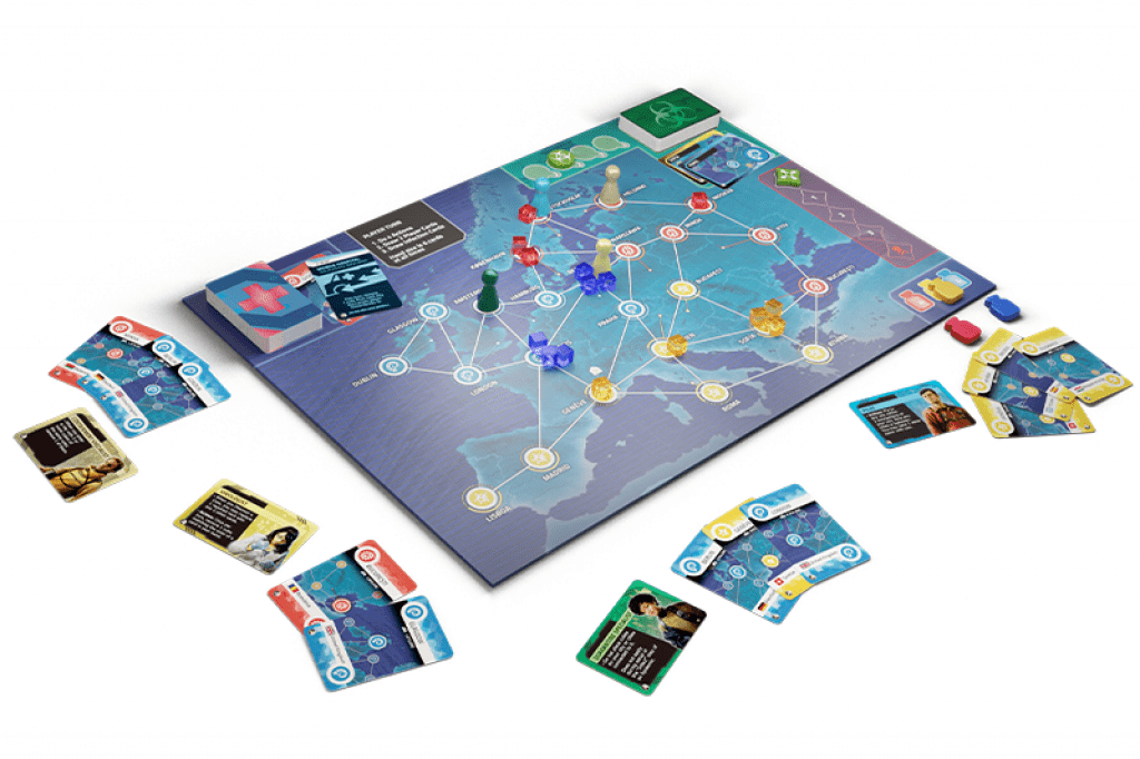 Board Game: Pandemic: Hot Zone – Europe