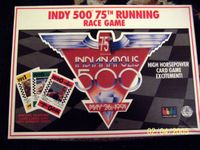 Board Game: Indy 500 75th Running Race Game