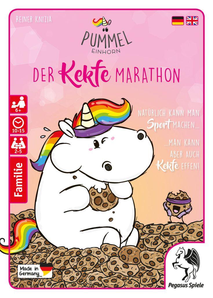 Board Game: Pummeleinhorn: Der Kekfe Marathon