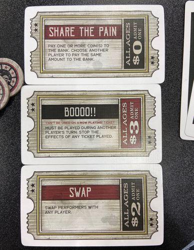 Board Game: Sideshow Swap