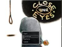 Video Game: Close Your Eyes