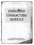 RPG Item: Expanded Characters Module