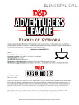RPG Item: DDEX2-05: Flames of Kythorn