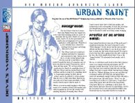RPG Item: Urban Saint