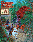 RPG Item: Dungeon Crawl Classics 2019 Convention Module: The Inn at Five Points