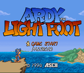 Video Game: Ardy Lightfoot