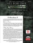 RPG Item: Richelieu's Guide to Alchemy