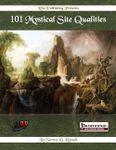 RPG Item: 101 Mystical Site Qualities (Pathfinder)