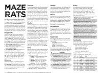 RPG Item: Maze Rats (Version 5.x)