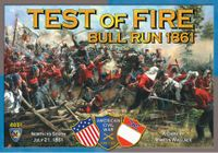 Board Game: Test of Fire: Bull Run 1861